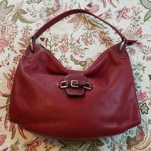 Puntotres Leather Shoulder  Bag